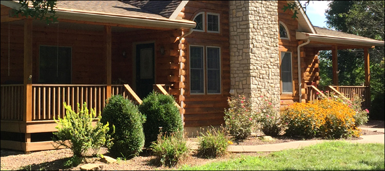 Log Home Damage Repair